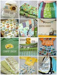 Sewing for baby boys