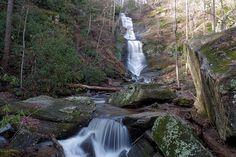 Tom's Creek Falls NC