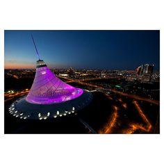 Khan Shatyr Entertainment Center, Kazakhstan. Foster + Partners. 2006-10