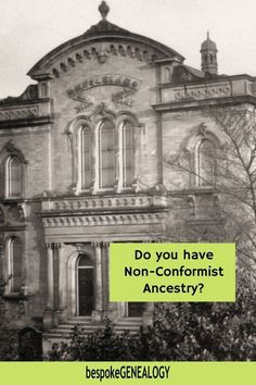 Do you have Non-Conformist Ancestry? Many of us have ancestors who were not members of the established church. Here's how to find non-conformist records for your British genealogy research. #bespokegenealogy #genealogy #uk Genealogy Research, Family Genealogy, Genealogy Organization, Newspaper Archives, Family Organizer, National Archives, Family Search, British Library, Roman Catholic