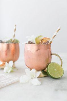 A Refreshing Kombucha Mule