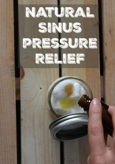 I love having natural solutions for my sinus pressure. It is amazing how well this works.
