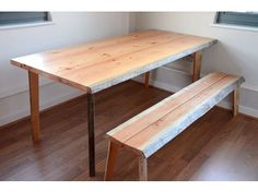 Solid wood designer dining table!