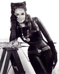 Julie Newmar as Catwoman.  Meeooww....