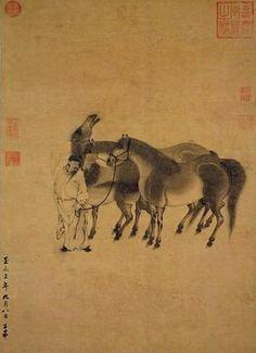 元代 - 趙孟頫 -《馬》