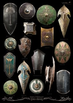 Secret Kingdom | THE LORD OF THE RINGS : SHIELDS OF MIDDLE-EARTH -...