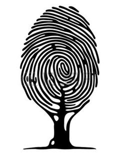Illustration about Finger print tree vector image. Illustration of biometrics, fingerprint, nature - 22822219 Fingerprint Tattoos, Fingerprint Art, Logo Arbol, Pochette Cd, Wood Logo, Tree Logos, Graphic Design Inspiration, Vector Art, Image Vector