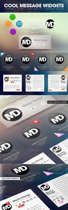Realistic Graphic DOWNLOAD (.ai, .psd) :: http://hardcast.de/pinterest-itmid-1006767925i.html ... Message Widget ...  message, profile card, widget  ... Realistic Photo Graphic Print Obejct Business Web Elements Illustration Design Templates ... DOWNLOAD :: http://hardcast.de/pinterest-itmid-1006767925i.html