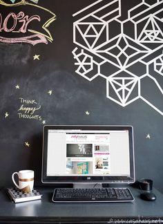 Taza DIY en nuestra oficina / DIY mug in our home office / Casa Haus