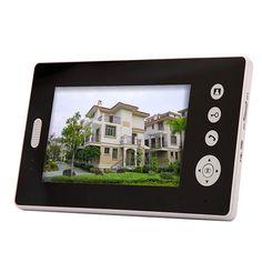 2.4GHz Digital Wireless Video Door Phone with 7 Inch TFT Screen