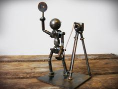 Steve Appel's Bolt People Nuts and Bolts by LavishMaidenVintage, $14.99