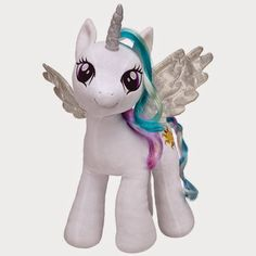 My Little Pony stuffed animal are available online or in-store at Build-A-Bear®! Our My Little Pony collection contains all your favorite MLP characters. All My Little Pony, My Little Pony Princess, My Little Pony Birthday, My Little Pony Friendship, Mlp, My Little Pony Merchandise, Princess Celestia, Build A Bear, Plush Dolls