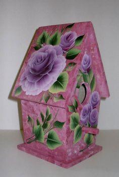Decorative Painted Birdhouses