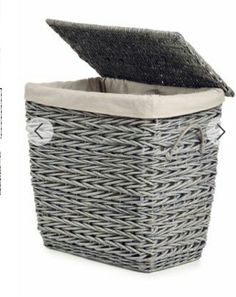 Pretty Laundry Baskets Curver Ribbon Effect Slim Flexible Laundry Washing Tote Basket 45L
