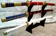 Zoro's current swords