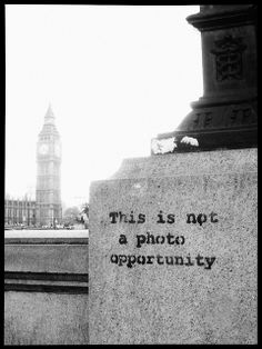 Banksy. London. This is not..