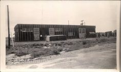 Vintage Photo World War II Army Barracks by foundphotogallery