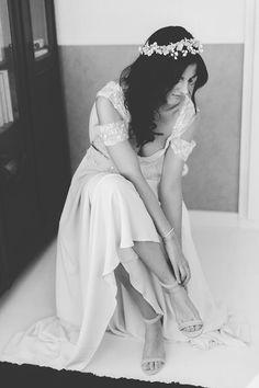 Vintage Hochzeit  Fotos: Lene Photography Brautstyling: Melanie Make-Up Location: Weingut am Nil
