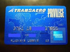 Russia-American-Express-Transaero-Airlines-credit-card-expired