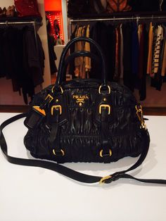 Prada Napa Gaufre Leather Bowler Large Convertible Bag Available Now At Reddz Trading Georgetown
