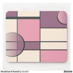 Mondrian & Pastell Mousepad Piet Mondrian, Mousepad, Eyeshadow, Constructivism, Welcome Home, Musical Composition, Pastel, Eye Shadow, Eye Shadows