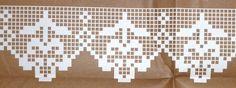 Pontas E Mais Pontas Filetcrochet Da Cr - Diy Crafts Crochet Edging Patterns, Filet Crochet Charts, Crochet Lace Edging, Crochet Borders, Thread Crochet, Crochet Designs, Crochet Doilies, Hand Crochet, Crochet Art