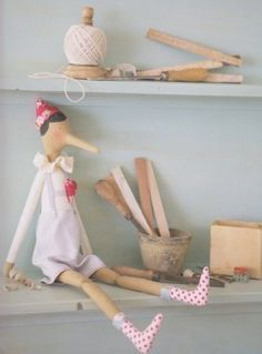 Mimin Dolls  Tildo-Pinocho