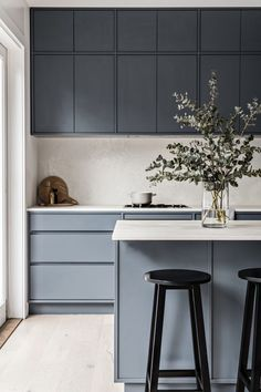 Home Decor Kitchen .Home Decor Kitchen Home Decor Kitchen, Kitchen Interior, New Kitchen, Home Kitchens, Kitchen Ideas, Grey Kitchens, Kitchen Tips, Interior Simple, Interior Desing