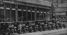 Peppers Service Garage, Albion Street, Hanley. 1927