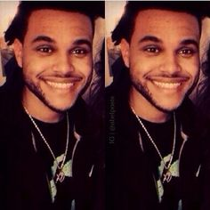 -the weeknd .. That smile ..