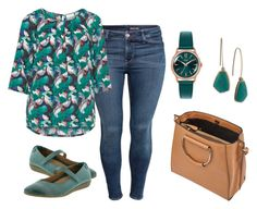 """Everyday Teal"" by beavercity on Polyvore featuring H&M, JunaRose, taos Footwear, Henry London, Lauren Ralph Lauren, Miss Selfridge, teal and everdaystyle"