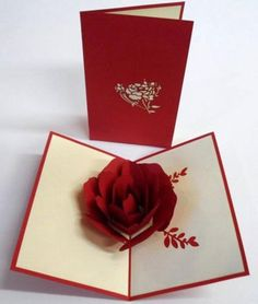 Items similar to Rose Pop up Greeting Cards, Any Occasion Pop up Card, Colletible Greeting Cards. Kirigami, Paper Cut on Etsy Pop Up Art, Arte Pop Up, Pop Up Flower Cards, Birthday Cards For Girlfriend, Tarjetas Pop Up, Pop Up Greeting Cards, Exploding Box Card, Paper Pop, 3d Rose