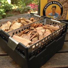 Steven Raichlen Wood Chip Double Soaker Set