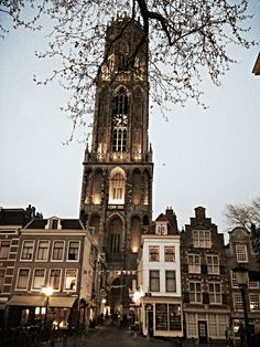 I've been here! - The Dom Tower in Utrecht the place where I was born and live  www.matthijswateler-art.com