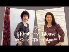 How to draw & design the Kimberly Blouse by Sure-Fit Designs™