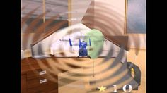 R and C Helicopter Indoor Flight Simulation PC 2002 Gameplay