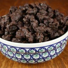 Homemade Chocolate Covered Craisins