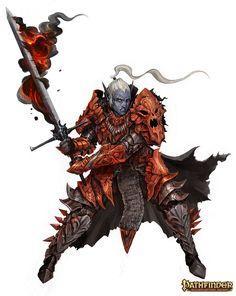 Drow Characters - Pathfinder RPG , Alexandre Chaudret on ArtStation at https://www.artstation.com/artwork/Bk396