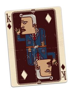 Cape Town Playing Cards by Clement  de Bruin, via Behance
