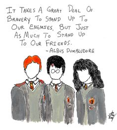 Great Deal of Bravery -Dumbledore