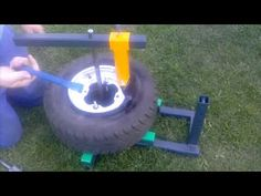 I build this tire changer for myself and it works great. Here I've changed the front tires of my These tires were about 9 years old, so so. Welding Projects, Montage, Metal Working, Tired, Diy And Crafts, Manual, Workshop Ideas, Tools, Make It Yourself