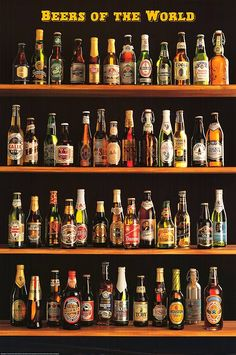 Beers of the World Poster