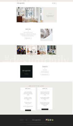 Design by Meg Summerfield, a modern and simple website with a clean and modern layout, very minimalist and elegant. Beautiful Website Design, Web Design Trends, Design Web, Media Web, Simple Website, Website Design Inspiration, Graphic Design Branding, Modern, Cool Designs