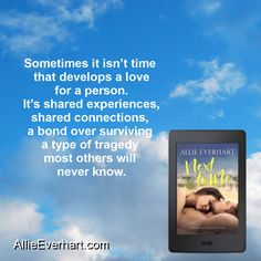 Next to Me is a standalone contemporary romance by Allie Everhart.