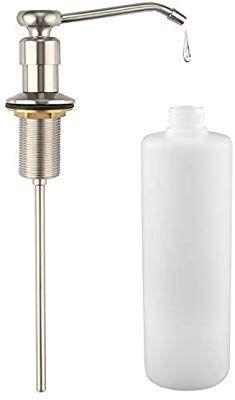 Louyc Kitchen Sink Soap Dispenser Brushed Nickel Amazon Com Soap Dispenser Sink Soap Dispenser Lotion Dispenser