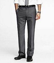 END-ON-END WOOL BLEND PHOTOGRAPHER SUIT PANT