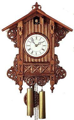 Romba 3406 Beha Bahnhäusle 8 Day Cuckoo Clock