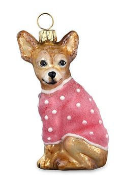 Joy to the World Collectibles Puppy Dog Ornament available at #Nordstrom