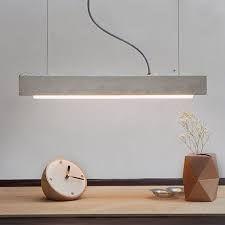 esstischlampe beton