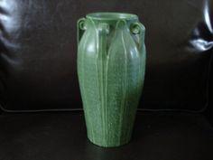 Ephraim Faience Pottery Vase